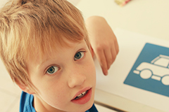 A diagnosis of Autism Spectrum Disorder is based solely on behaviour and is usually diagnosed by age four. Shutterstock