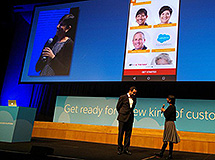 Dan Bognar and Professor Dissnayake at the Salesforce Advantage Tour 2015