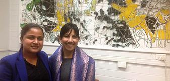 Dr Santoshi Halder and Professor Dissanayake