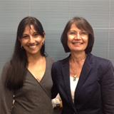 Ms. Ingalill Gimbler-Berglund with Professor Dissanayake.