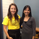 Katie Koullas, Chief Inspiration Officer, Yellow Ladybugs, visited Prof Cheryl Dissanayake to talk about OTARC research and awareness activities.