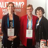 Alex Aulich, Associate Professor Amanda Richdale and Dr Nancy Sadka