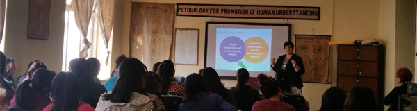 Dr Barbaro at AutismCare Nepal Society.